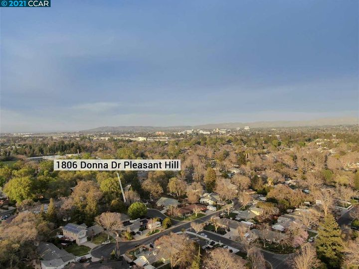 1806 Donna Dr Pleasant Hill CA Home. Photo 37 of 38