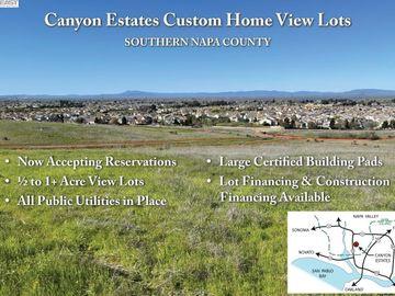 276 Canyon Estates Cir Lot 9, American Canyon, CA